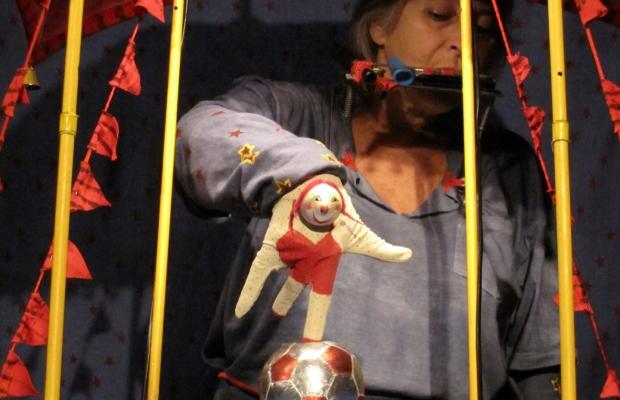 הקרקס של לולו, הצגת ילדים תיאטרון בובות בתיאטרון הקרון בירושלים