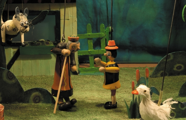 פיטר הזאב הצגת ילדים תיאטרון בובות, תיאטרון הקרון בירושלים
