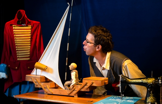 מעיל הפלאים, הצגת ילדים תיאטרון בובות, תיאטרון הקרון בירושלים