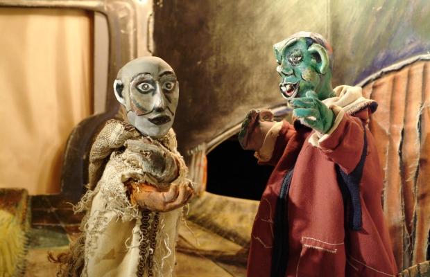 סיפור הפול, הצגת ילדים תיאטרון בובות בתיאטרון הקרון בירושלים